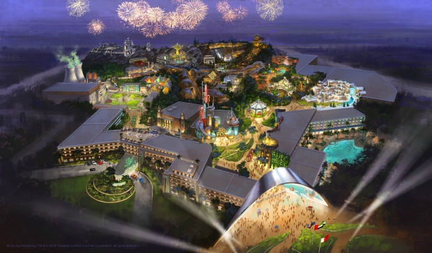 Get Excited: Lions Gate & 20th Century Fox Unveil New Theme Parks