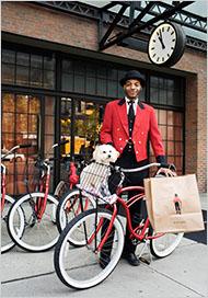 Loaner Bikes at the Bowery Hotel