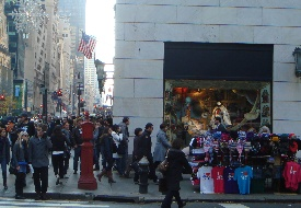 New York's Store Windows Couple High Art and Holiday Cheer