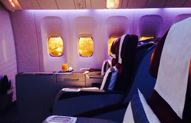 Business Class: Here's What You're Paying For