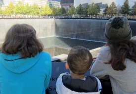 Visiting the 9/11 Memorial with Kids