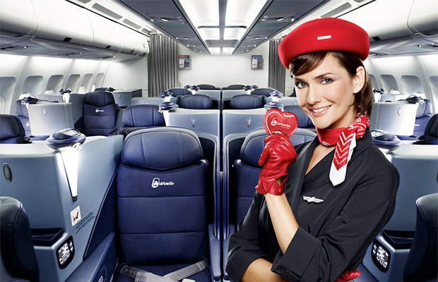 Want to Get Upgraded to Business Class? On airberlin, You Can Bid for It