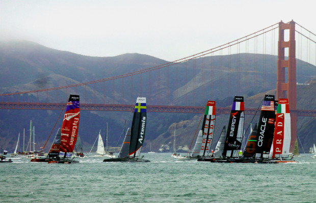 Where to Watch the America's Cup in San Francisco