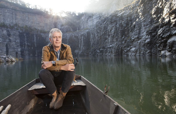 Q&A: What's in Anthony Bourdain's Carry-On, Plus His Travel Favorites