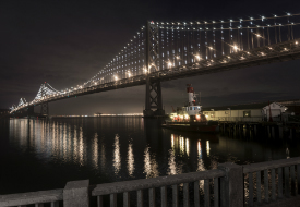 The Bay Lights: World's Largest LED Sculpture in San Francisco