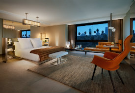 Be the Commander-in-Chief at Beverly Hills' SLS Hotel