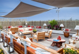 The Betsy Hotel's Rooftop Party Deck