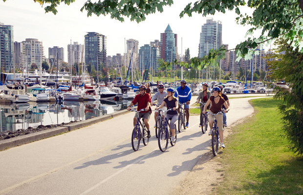 Get Moving! 5 Great Bike Rides in Vancouver