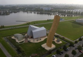 121-Foot Wall in the Netherlands Takes Climbing to New Heights