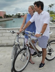 Cruise on BMW Bicycles at Fairmont Hotels