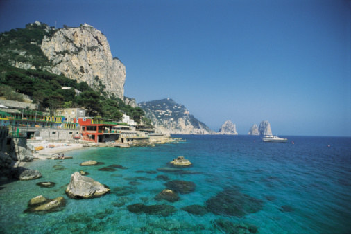 Soak Up Glamour with an Exclusive Capri Package