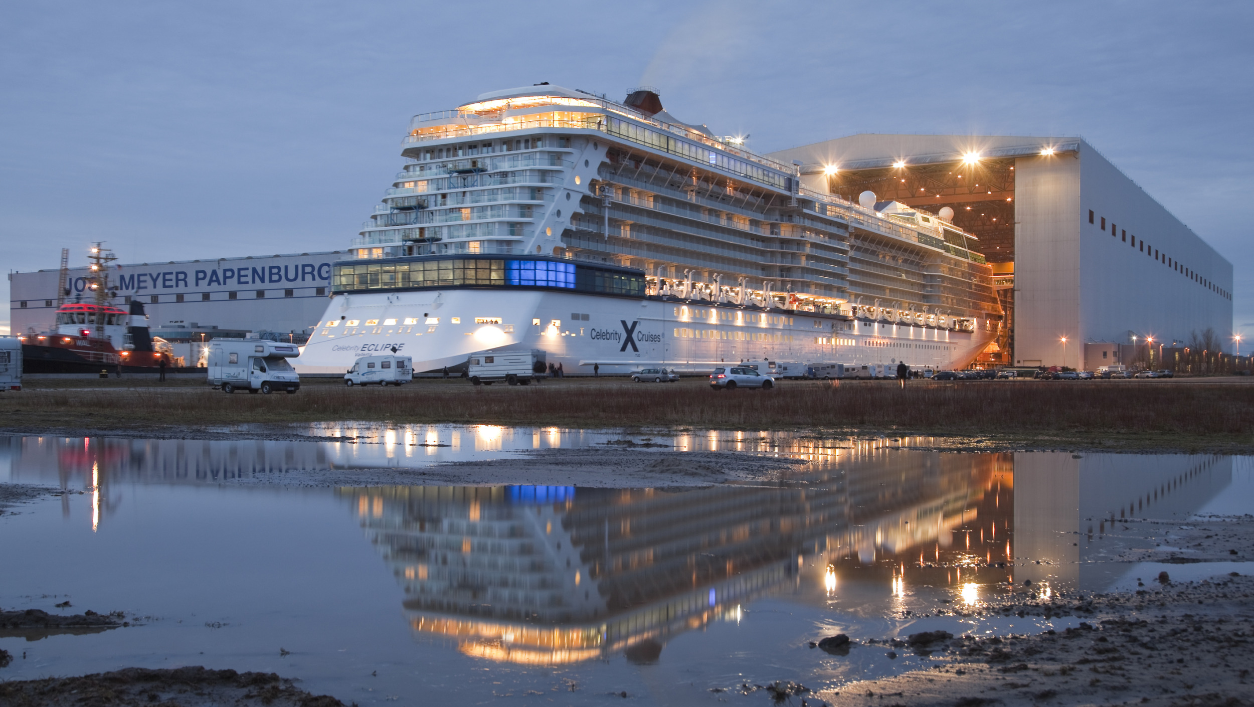 Cruise Industry Gets Sneak Preview of Two New Ships