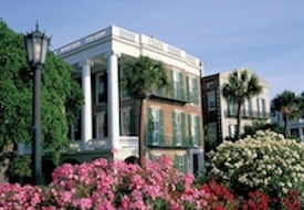 Romance Blossoms During April & May in Charleston