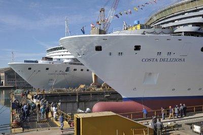 Costa Deliziosa One Step Closer to Launch