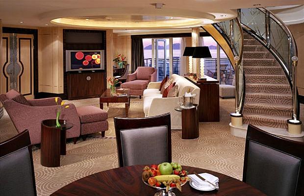 5 Lavish Cruise Ship Suites