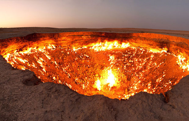 Inspired Travel: Darvaza Door to Hell