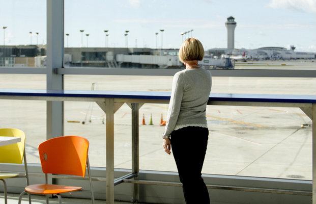 Delta's Outdoor Decks Offer Fresh Air Before Taking to the Skies