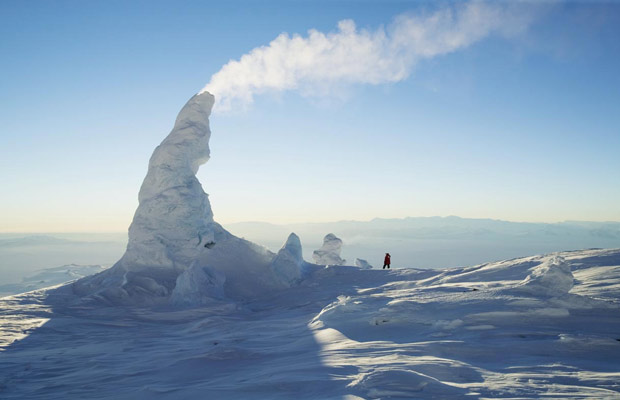 Inspired Travel: Mount Erebus Ice Towers