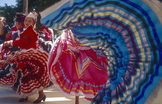 On the Ground at the Santa Fe Fiesta