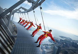 EdgeWalk Opens the 2012 Season with Daring Heights