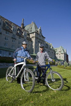 Guests Bike for Free at Canada's Fairmont Hotels