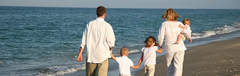 Top 10 Family Beaches