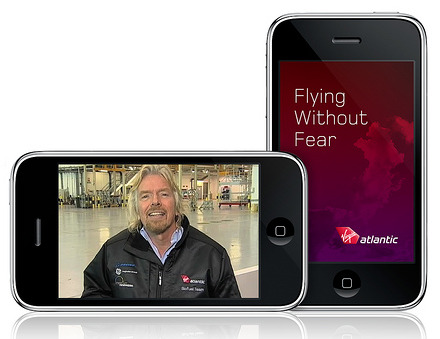 Fly Without Fear Thanks to Virgin Atlantic iPhone App