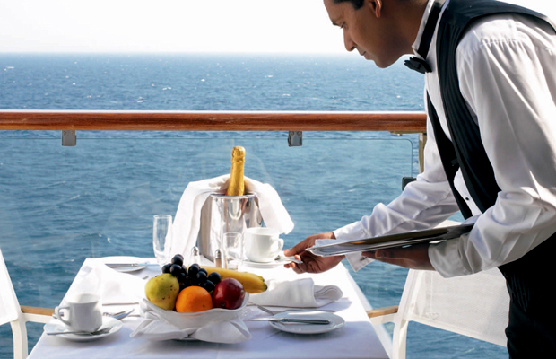Cruise Ship Room Service: An Update on What's Free & What's Not