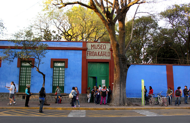 Inspired Travel: Color & Life at Frida Kahlo Museum (Mexico City)