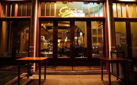Patio Dining at New York's Gigino Trattoria