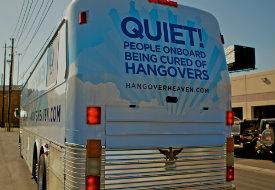 Las Vegas's Hangover Heaven Bus: Hop Aboard, Feel Better