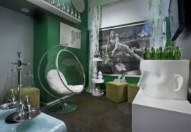 Hotel Diva Debuts Perrier Lounge