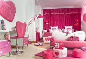 Barbie and Hot Wheels Rooms at the Hotel Plaza Athénée Paris