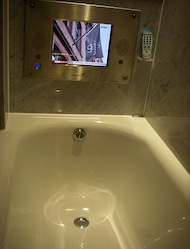 Why Do I Need a TV in My Hotel Bathroom?