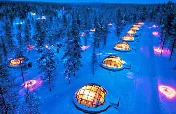 Inspired Travel: Igloo Village Kakslauttanen, Finland