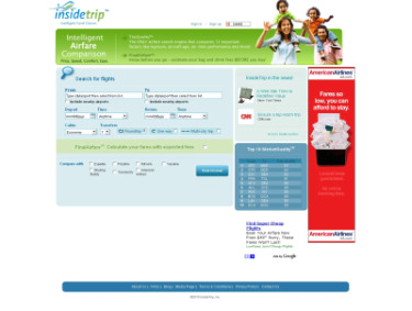 InsideTrip Reroutes Online Booking