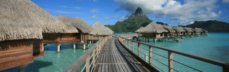 Bungalow Bliss in French Polynesia