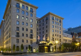 Staying at The Jefferson Hotel in Washington, D.C.