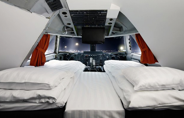 Checking In: Sleeping Soundly On a Plane...That's Also a Hotel