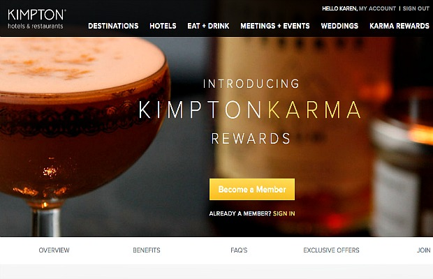 Kimpton's New Loyalty Program Offers Perks Over Points
