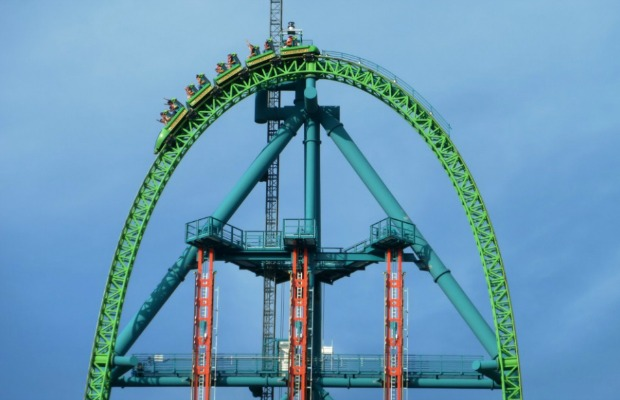 The 5 Fastest Roller Coasters in the World
