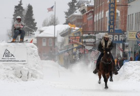 Best Places to See Exciting Winter Sport of Skijoring