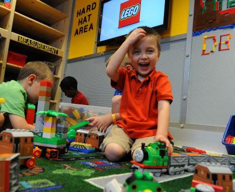Paradise is a Giant Box of LEGO Bricks