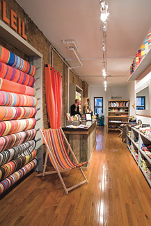 Fab French Fabric Store Opens in New York City