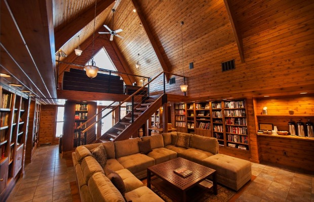 5 Awesome Hotel Libraries