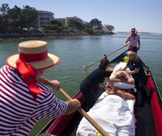 Floating Gondola Massages in San Diego