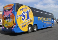 $1 Fares on 9 New Megabus Routes from Pittsburgh