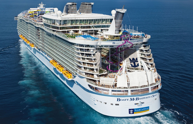 Cruise News: The First Floating Racetrack, Name Games & More