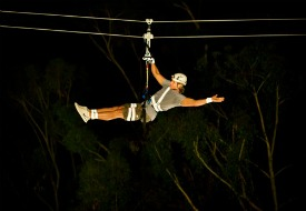 New Night Zip Line on Southern California's Catalina Island