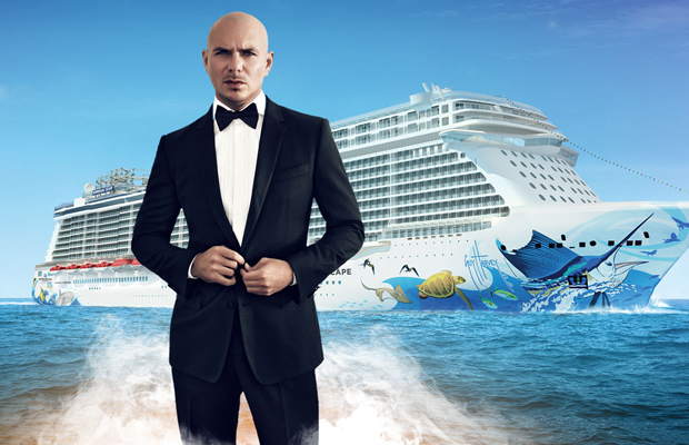 """Norwegian Names """"Pitbull"""" Godfather of Its Newest Ship"""